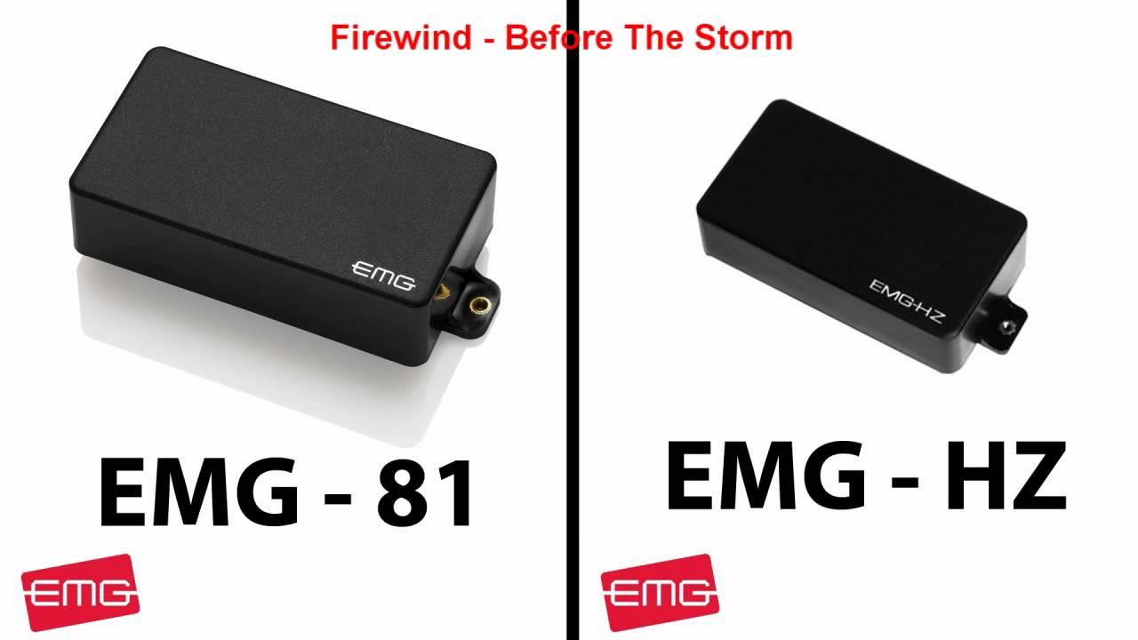 EMG 81 vs EMG HZ  YouTube