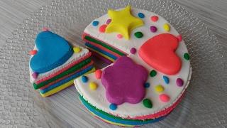 Oyun hamuruyla pasta yapımıhamur oyunlarıoyun hamuru videolarıplay doh cake-play doh videos