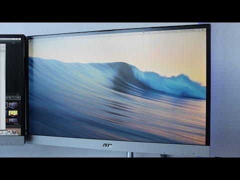 AOC I236VM IPS LED Monitor Full Review (I2369v)