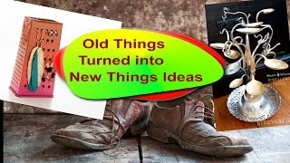 25 Creative Ways To Turn Old Stuff Into New Stuff