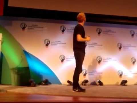 Patrick Collison Co Founder Stripe at Global Entrepreneurship Summit at Stanford