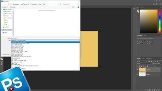 Como corrigir ERRO (SALVAR COMO) Arquivo PNG e outros formatos no Photoshop