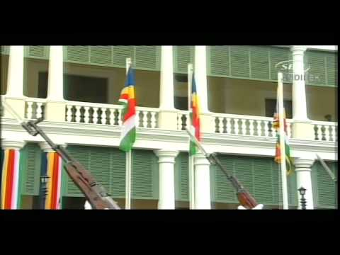 SBC SEYCHELLES - Inauguration Ceremony President of Seychelles - 20 Dec 2015