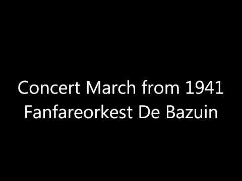 De Bazuin - Concert March from 1941 (arr. Steven Sykes)