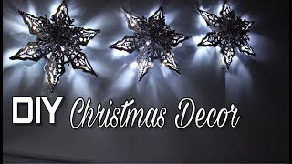 Diy | 6 Point Snowflake Lantern Decor