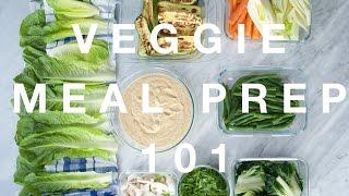 MEAL PREP » H๐w I Prep Vegetables For The Week