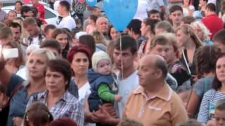Святкування 25-річниці Незалежності України (м.Роздільна)