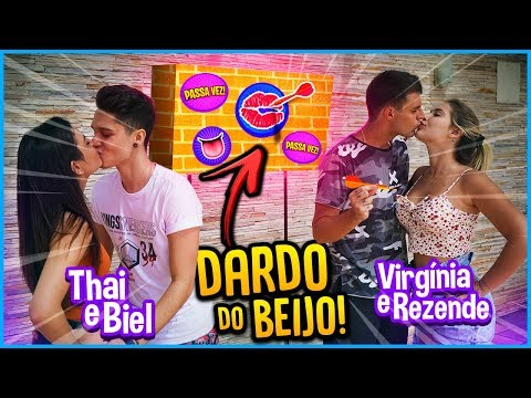 CASAL VS CASAL: DARDO DO BEIJO!! [ REZENDE EVIL ]