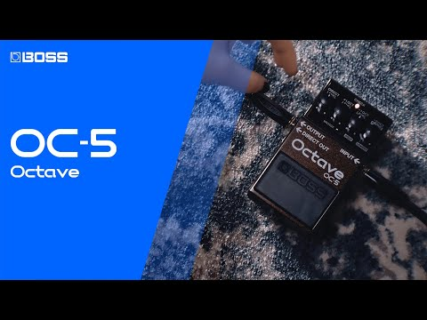 BOSS OC-5 OCTAVE - The New Standard In Octave Pedals