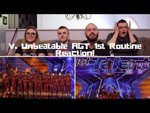 V.Unbeatable Dance Crew From India Soars, Flies, And Makes You Emotional Video REACTION!