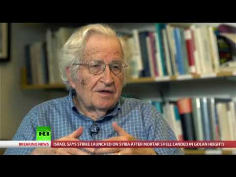 Chris Hedges 'On Contact' : Noam Chomsky interview - Part I | Requiem for the American Dream
