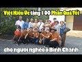 Việt Kiều ÚC tặng 100 phần quà Tết giúp người nghèo ở Bình Chánh Sài Gòn