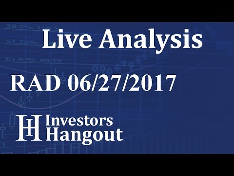 RAD Stock Live Analysis 06-27-2017