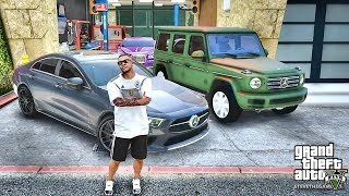 GTA 5 REAL LIFE MOD #473 BENZ GARAGE!!! (GTA 5 REAL LIFE MODS)