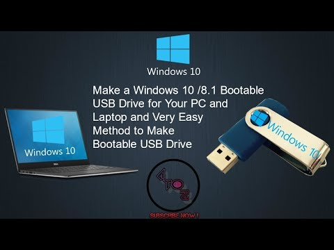 How To Make Windows 10/8.1 Bootable USB Drive | Rufus 3.5 | UPDATED 2019
