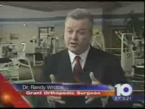 Grant on 10TV - Dr. Randy Wroble Offers Tips to Aging Athletes