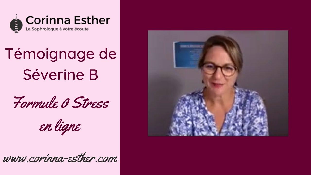 Nouveau témoignage d'un Accompagnement zéro stress avec la Sophrologue certifiée Corinna Esther