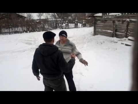 Прикол Пьяная разборка в селе драка Просто треш (приколы)2019