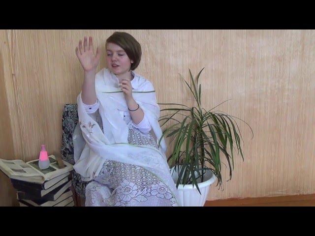 Изображение предпросмотра прочтения – КираШеховцова читает произведение «Ромео и Джульетта» У.Шекспира
