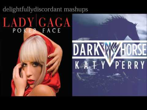 Dark Poker Face  Katy Perry vs Lady GaGa {Mashup}