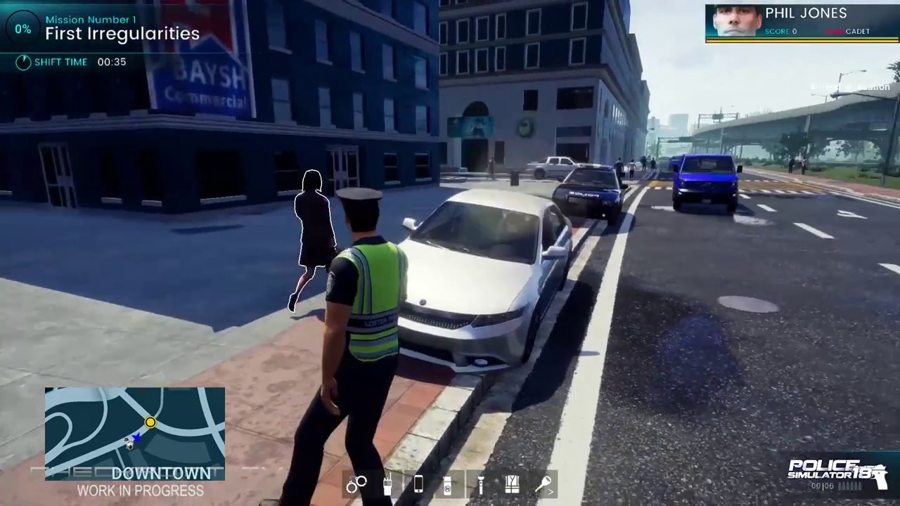 Police Simulator 18 Traffic Duty PC Preview Gameplay 60 FPS