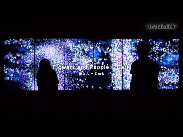 Flowers and People - Dark / 花と人 – Dark