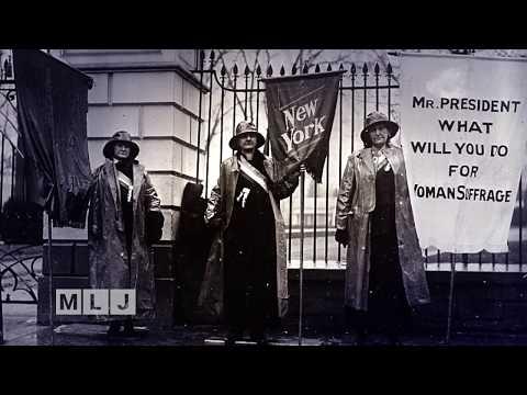 New York Celebrates Suffrage Movement Centennial