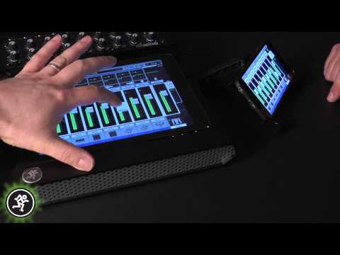 Mackie DL Series Digital Live Mixers - Introducing My Fader v3.0
