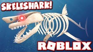 BUYING THE *NEW* SKELESHARK in SHARKBITE HALLOWEEN UPDATE!! (Roblox)