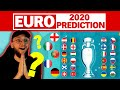 MY EURO 2020 (2021) PREDICTIONS IN FULL!