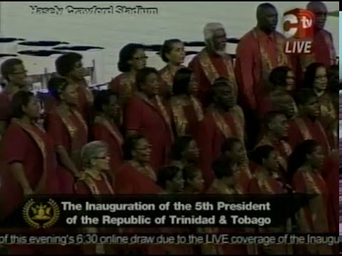 The Inauguration of the 5th President of the Republic of Trinidad & Tobago