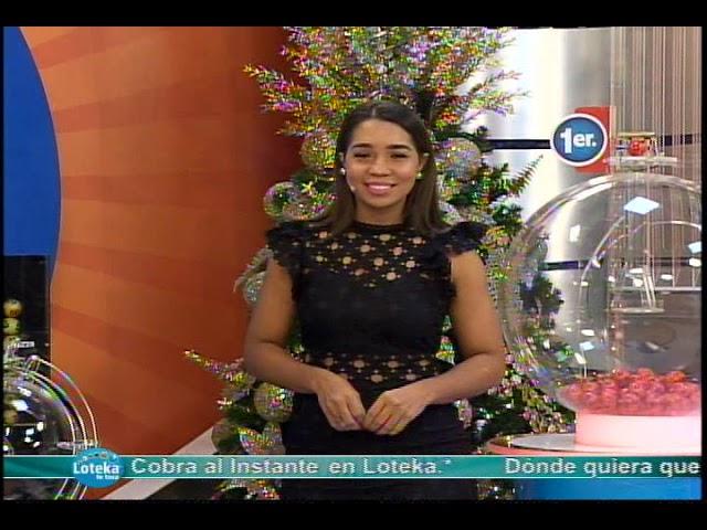 Loteka Lotería Electrónica Sorteo 7:00 PM 13-12-2019