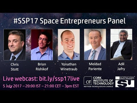 SSP17 Event: Space Entrepreneurs Panel