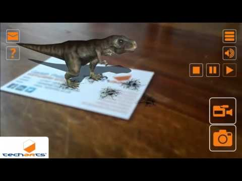 AR Business Card Augmented Reality Technology Innovation TechArts Marketing Invest