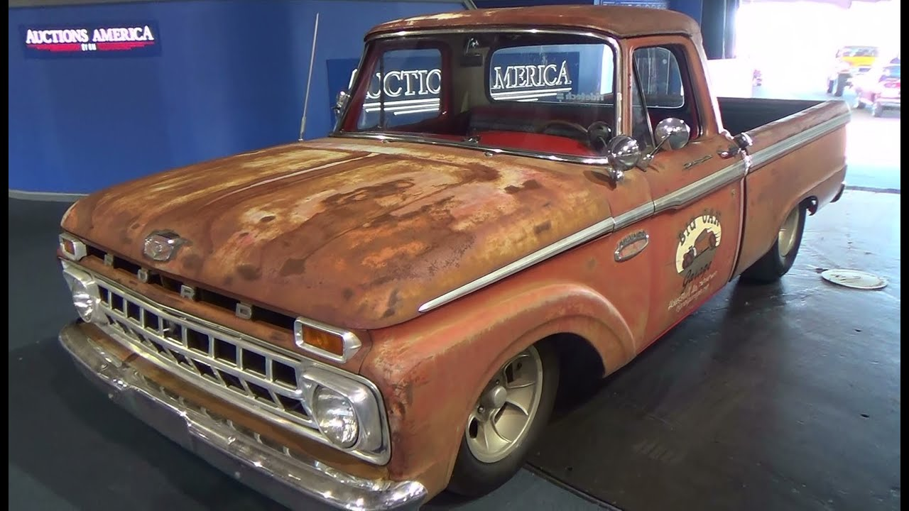 1965 ford f100 shop truck scottiedtv traveling charity road show 2014 youtube