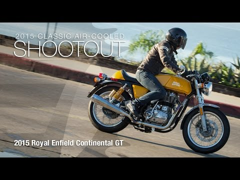 2015 Royal Enfield Continental GT - Classic Bike Shootout Part 1 - MotoUSA