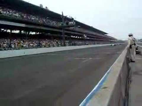 2007 Indianapolis 500 Re-Start after rain delay