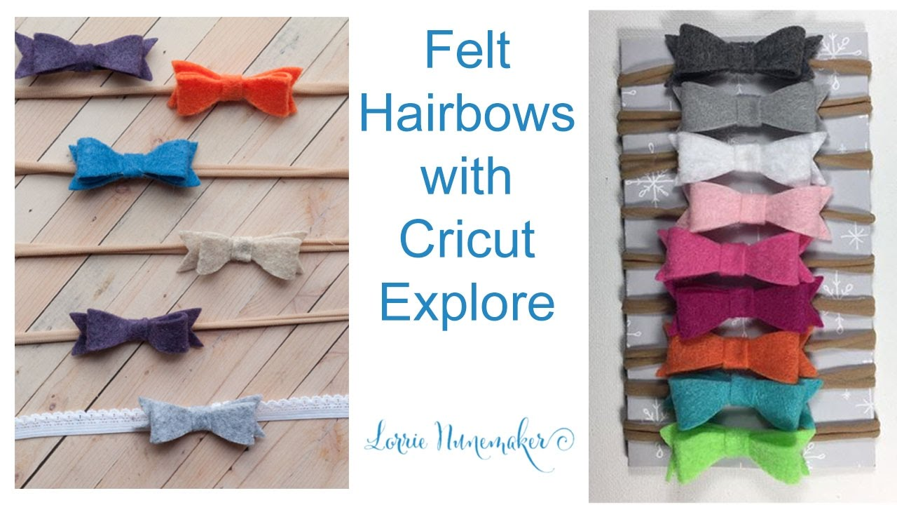 Felt Backed Patterned Vinyl for hair bow making and crafts