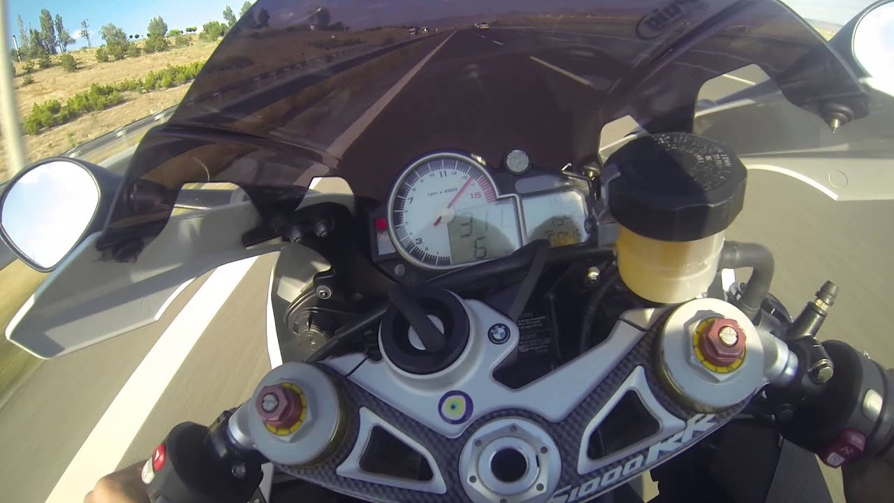 BMW S1000RR TOP SPEED 322 Km ANKARA