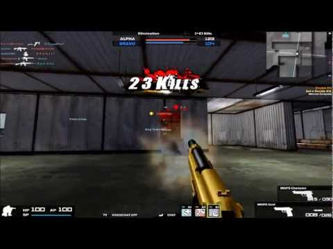 Combat Arms: M92FS Gold Gameplay
