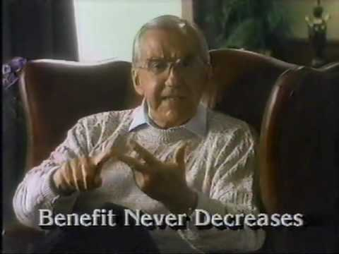 Colonial Penn Life Insurance Commercial (1995)