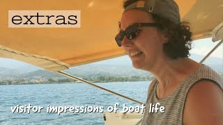 'A pirate (visitor) on the boat!!' | The Sailing Nomads