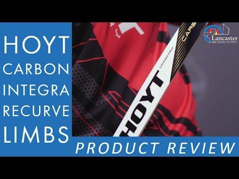 NEW 2020 Hoyt Formula Integra Carbon Limb | LancasterArchery.com Product Video