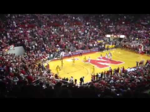 The final seconds of the Devaney Center