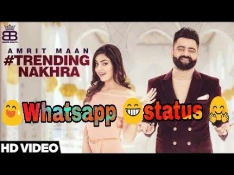 """Trending Nakhra""""by Amrit Maan#Whatsapp Status 😢💖😂😇 Robin Mangwana😀😁"""