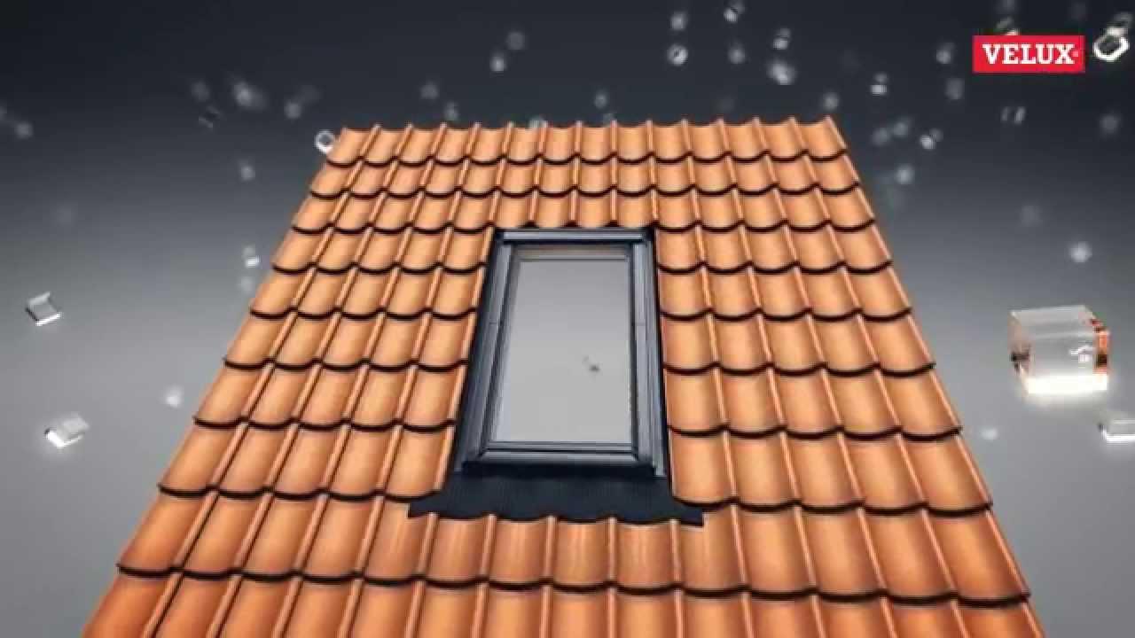 Présentation de la fenêtre de toit Velux / Autour de Toit - YouTube