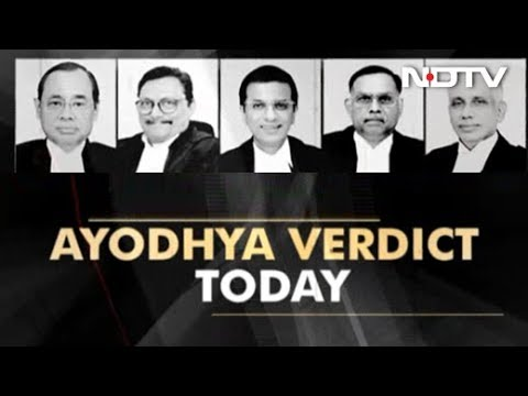 Ayodhya Verdict: Historic Supreme Court Verdict In Ayodhya Case Today