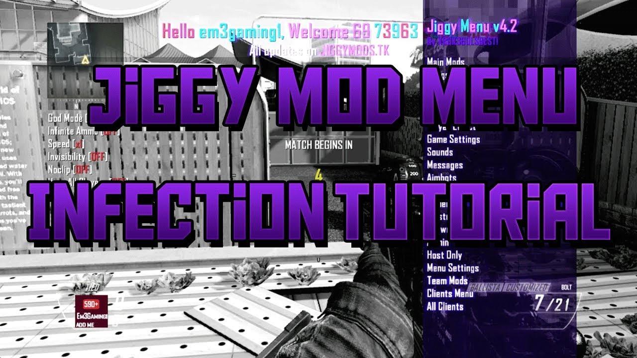 Jiggy Mod Menu Controls Pc