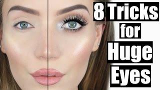 8 Tricks for HUGE Eyes! | STEPHANIE LANGE