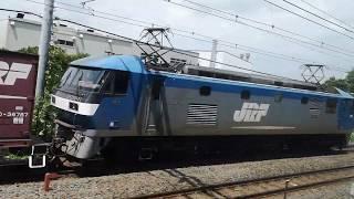 【並走バトル】JR貨物列車EF210形 vs 湘南新宿ラインE231系